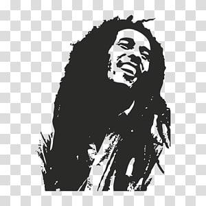 Bob Marley, Bob Marley Bumper sticker, Wall decal, Bob Marley png