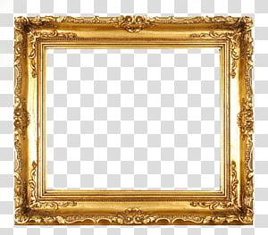 bingkai, Bingkai Emas, bingkai lukisan kerawang emas PNG clipart