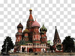 Katedral Saint Basils, Katedral Saint Basil's Tsar Bell Red Square Menara Spasskaya Moscow Kremlin, Russia PNG clipart