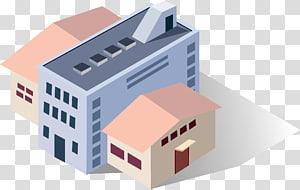 Icon Building Building Euclidean Adobe Illustrator Industri, Bangunan dan gudang png