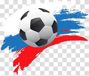 Piala Dunia FIFA 2018 Tim sepak bola nasional Papua Nugini Rusia Konfederasi Sepak Bola Oseania, Piala Dunia Rusia 2018 Deco, ilustrasi bola putih dan hitam png