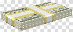 bundel uang kertas 100 dolar AS, Dolar Amerika Serikat, Bundel Dolar png