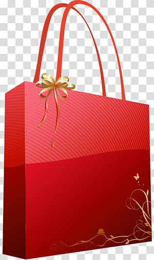 ilustrasi tas jinjing merah, Tas Hadiah, Tas Hadiah Merah png