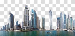 bangunan bertingkat tinggi di dekat genangan air di siang hari, Kantor Pusat Europcar Dubai, Dubai, Uni Emirat Arab PNG clipart