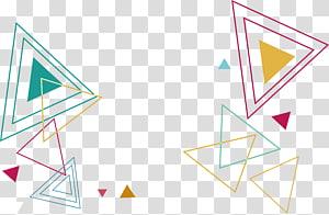 File komputer Triangle Euclidean, Garis warna Pola segitiga, segitiga PNG clipart