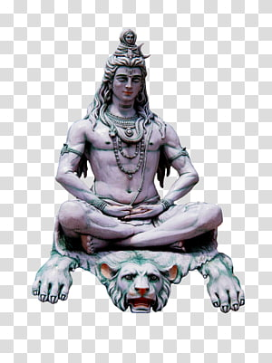 ilustrasi manusia yang duduk di singa, Shiva Krishna Parvati Ganesha, Hanuman png