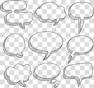 Balon ucapan Kotak teks Kotak dialog, Tekstur perbatasan kotak dialog awan putih sederhana, berbagai macam kotak pesan png