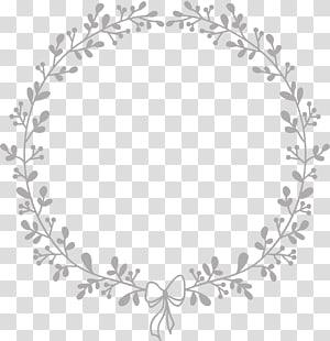batas krem bulat, seni pernikahan kerajinan, bingkai bulat PNG clipart
