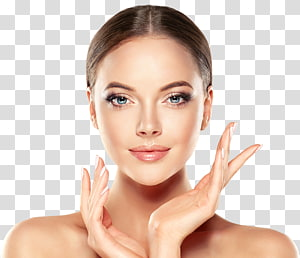 wajah wanita, krim anti-penuaan Perawatan kulit Kosmetik Wanita, wanita Wajah PNG clipart