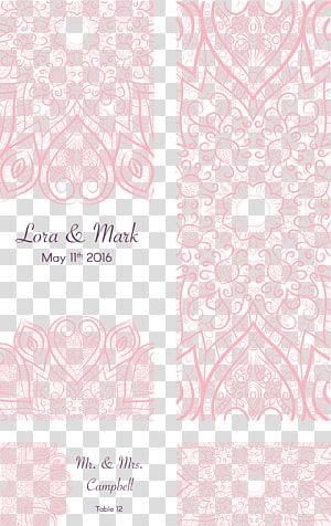 Seni visual Pola Merah Muda, Pola pink undangan pernikahan romantis, Lora & Mark 11 Mei 2016 seni grafis PNG clipart