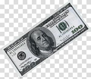 100 dolar AS, uang kertas, Dolar Amerika Serikat, uang kertas seratus dolar, uang kertas, uang kertas, uang kertas png