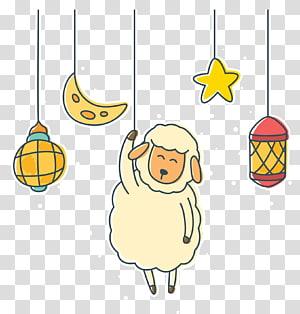 ilustrasi domba, Kartun Domba, Kartun domba png