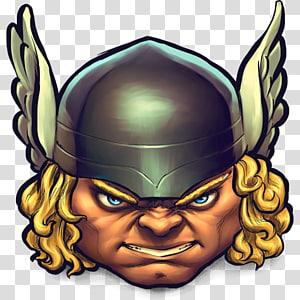 ilustrasi prajurit, kepala setan makhluk gaib seni, Komik Thor png