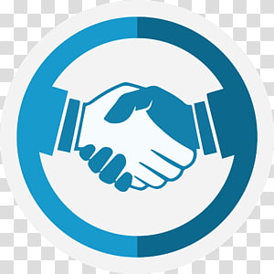 mitra bisnis biru dan putih, Milkshake Handshake Computer Icons, berjabat tangan PNG clipart