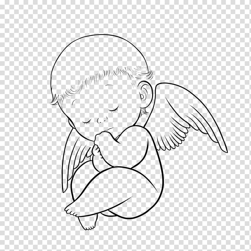 Menggambar Kartun Bayi, bayi malaikat png