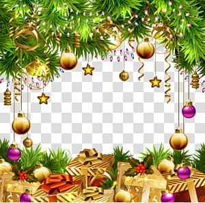 Ilustrasi dekorasi ornamen Natal, hiasan pohon Natal Kertas, latar belakang hiasan Natal yang indah png