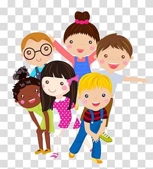 Ilustrasi Kartun Anak, Liburan anak-anak yang kreatif, ilustrasi berwarna anak-anak PNG clipart
