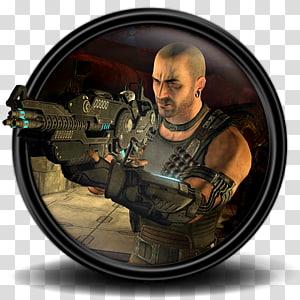 ilustrasi solder, tentara bayaran sniper organisasi militer sniper, Red Faction Armageddon 6 png