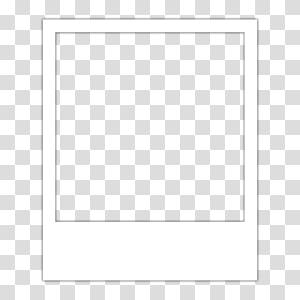 bingkai putih instan, Frames Polaroid Corporation Menggambar, polaroid png