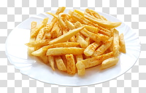 french fries dalam piring keramik putih, Fish and chips French fries, French Fries png