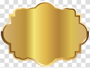Label Grafis, Template Label Emas, latar belakang signage emas PNG clipart