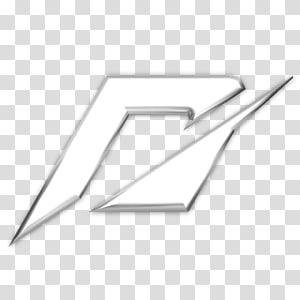 logo putih dan hitam, aksesori perangkat keras segitiga, logo NFSShift 2 png