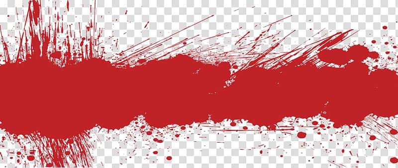 lukisan abstrak merah, Grunge Web banner, Grunge s Berkualitas Tinggi Gratis! png