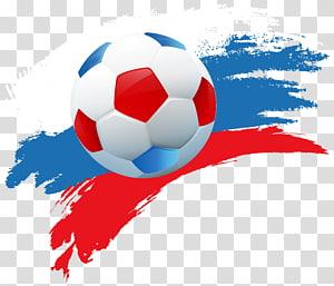 Rusia 2018 Tawaran Piala Dunia FIFA 2014 Piala Dunia FIFA Rusia 2018 Tawaran Piala Dunia FIFA 1930 Piala Dunia FIFA, Piala Dunia Deco Rusia 2018, bola sepak merah dan biru png