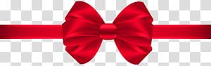 Red Ribbon Bow tie Silk, Bow, pita merah png