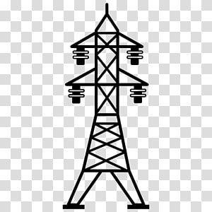 Saluran listrik overhead Ikon Komputer Transmisi daya listrik Menara transmisi, listrik png
