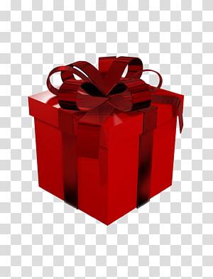 Kertas Bungkus Kado Kotak, Kotak Hadiah Merah Besar, Kotak Hadiah Merah png