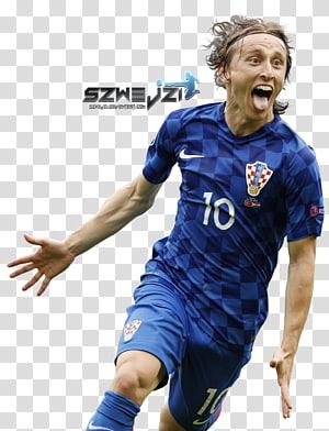 Tim sepak bola nasional Kroasia 2018 Piala Dunia FIFA UEFA Euro 2016 Pemain sepak bola, luka modric, karya seni pemain sepak bola png