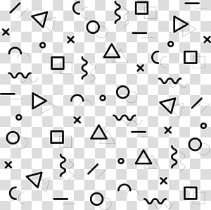 berbagai macam bentuk, Pola Halftone, pola geometris abstrak PNG clipart
