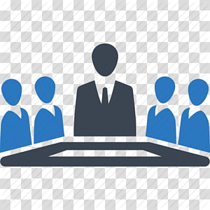 ilustrasi lima orang, Manajemen Senior Kepemimpinan Bisnis, Ikon Rapat Gratis png