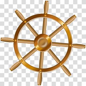 ilustrasi roda kemudi kapal, Roda kemudi Jangkar, Roda Kapal png