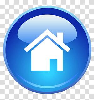 ilustrasi rumah putih, Halaman Beranda Ikon Komputer Situs Web World Wide Web, Blue Home Page Icon PNG clipart