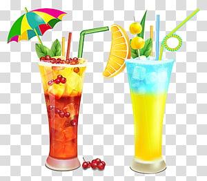 dua gelas pilsner, Jus jeruk, Minuman beralkohol, Koktail PNG clipart