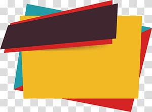 Ikon Penjualan Euclidean, kotak judul poster Jahe, abstrak berbagai macam warna png