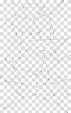 Pola Simetri Titik Garis, Pola garis geometris abstrak, ilustrasi garis hitam png