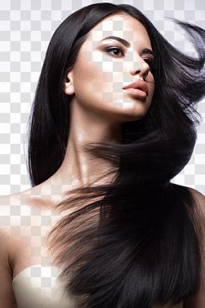 Gaya rambut Pewarnaan rambut Integrasi rambut buatan Shampoo, Kecantikan rambut cantik, dari wanita berambut hitam PNG clipart