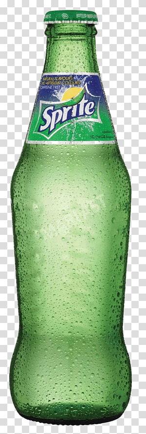 Ilustrasi botol Sprite, Sprite Zero Minuman ringan Coca-Cola, Botol Sprite PNG clipart