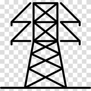 Transmisi tenaga listrik Saluran listrik overhead Menara transmisi Listrik, menara listrik png