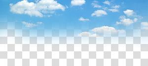 Langit biru dan awan putih, langit biru png
