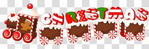 Natal Tahun Baru, Label Permen Kereta Merry Christmas, dekorasi kereta Natal png