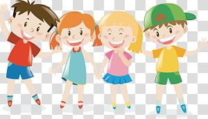 ilustrasi anak-anak, Anak, anak-anak yang bahagia png