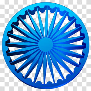 Ikon Ashoka Chakra File komputer, Ashoka Chakra India, logo biru bulat PNG clipart
