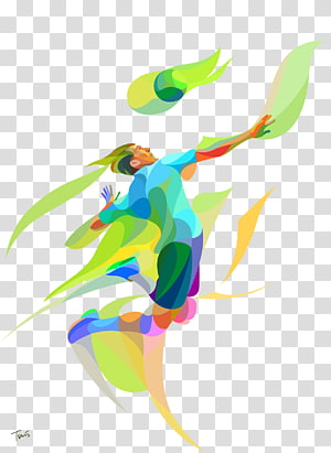 2016 Olimpiade Musim Panas Pantai voli resolusi 4K, Bermain pemain voli blok berwarna, ilustrasi pemain voli png