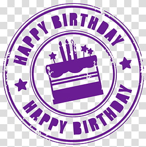Kue ulang tahun, Cap Selamat Ulang Tahun, hamparan teks Selamat Ulang Tahun png