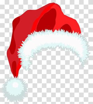 Santa Claus Hat Christmas, Santa Hat, ilustrasi Santa Claus hat png