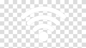 Garis Hitam dan Putih Titik Sudut, ikon Wifi, logo Wi-Fi png